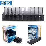 Soporte para almacenamiento de la caja de tarjetas de juego para PS4 SLIM PRO CD Disks Card Holders 2pcs