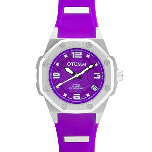 Otumm Speed Classic 013 Lila 39mm Unisex Speed Armband Uhr