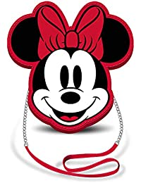 Karactermania Disney Icons Minnie Mouse Sac bandoulière, 20 cm, Red