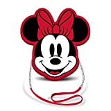 Karactermania Disney Icons Minni Mouse Borsa Messenger, 19.5 x 2 x 19 cm, Red