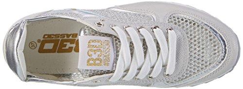 Xti 41285, Sneaker Femme Silber (plata)