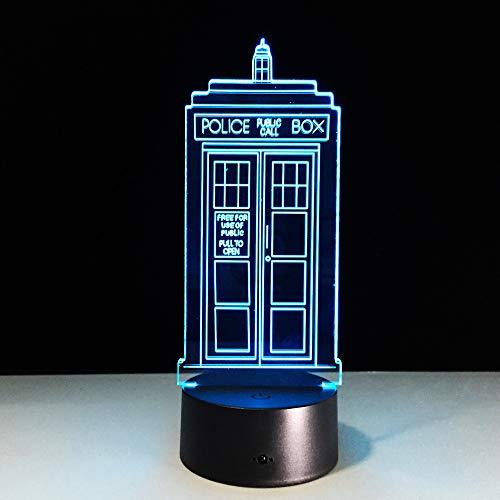 3D-Nachtlichter ändern 3D-Neuheit beleuchtet Creative Desk Lamp Drop Ship ## 2 (Drop-cam-außen)