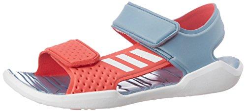 adidas Kinder Wassersandale RapidaSwim J Badesandale Wasserschuhe , Größe:38 - UK 6 - 24 cm;Farbe:Rosatöne