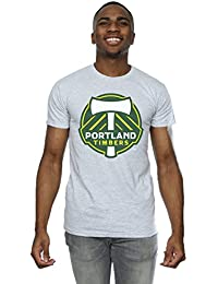 Majestic Homme MLS Portland Timbers Logo T-Shirt XX-Large Heather Gris