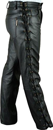 Lederprofi - Pantalon - Bootcut - Homme Noir Noir Noir - Noir
