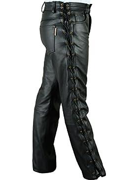 Lederprofi - Pantalón - Pantalones Boot Cut - para hombre