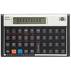 HP 12c Calculatrice Financière Noir