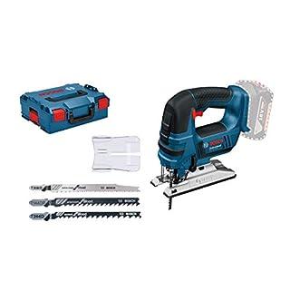 Bosch Professional Akku-Stichsäge GST 18 V-LI (Ohne Akku, 18 Volt System, Schnitttiefe Holz: 120 mm, in L-Boxx)
