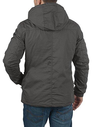 !Solid Tilden Herren Übergangsjacke Herrenjacke Jacke mit Kapuze, Größe:XXL, Farbe:Dark Grey (2890) - 3