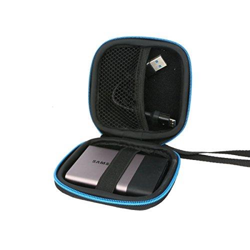 Für Samsung T1 T3 / SanDisk Extreme 500 SSD-Festplatte Solid State Drive Harte Fall von Markstore
