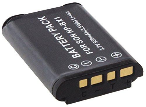Mtec Akku 1240mAh für Sony CyberShot DSC-HX300DSC-HX50DSC-HX50V/DSC-RX1DSC-RX100DSC-RX100II DSC-RX1R DSC-WX300/HDR-AS15Action Cam GW66GWP88/Ersetzt: NP-BX1