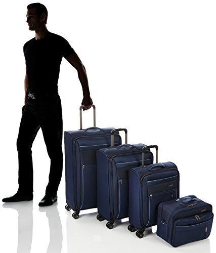 Travelite Capri Set 4 Rad Bt 89840-02 Koffer-Set, 76 cm, Marine - 6