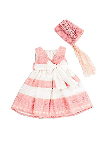 Generic - Robe de baptême - Bébé (fille) 0 à 24 mois rose rose 6e39f926bae