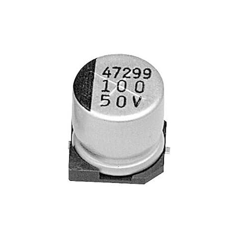 Samwha RC1V476M6L006VR 47µF ±20% 35V 105°C SMD Aluminium Electrolytic Capacitor