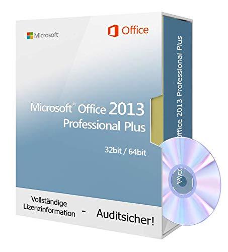 013 Professional Plus inkl. Tralion-DVD, inkl. Lizenzdokumente, Audit-Sicher ()