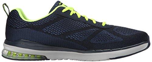 Skechers Skech-air Infinity, Chaussures Multisport Outdoor homme Bleu - Blue (Navy Nvyl)