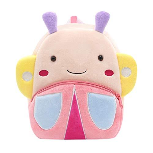 Dhyuen  Mädchen Jungen Mini Bookbag Cute Cartoon Animal Rucksack, Kinder Kinder Kleinkind Schultasche Little Cord Tasche