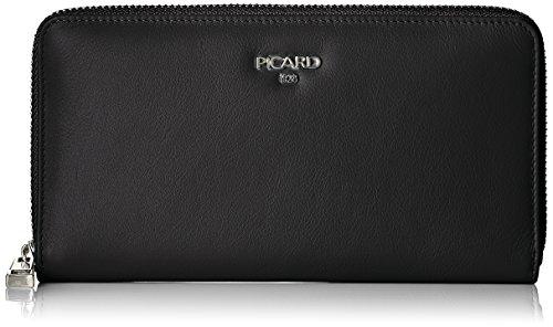 Picard Damen Bingo Geldbörse, Schwarz, 2.5x10x19 cm