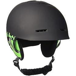 Quiksilver Fusion–Casco de esquí/snowboard verde talla 58
