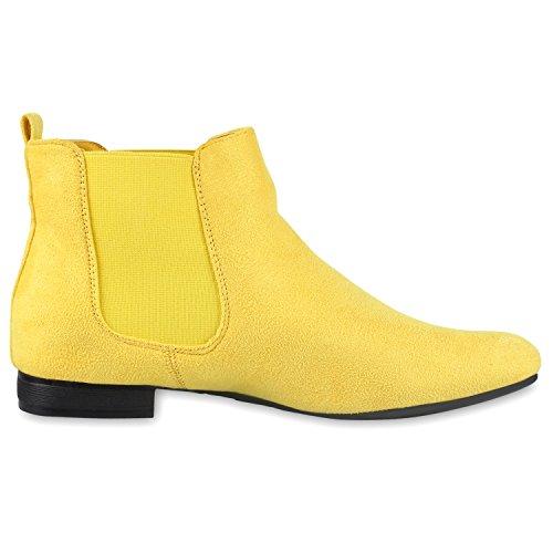 Plana Mulheres Amarelo De Sapatos Botina 36 Ankle Veludo Couro Gr Boots Óptica 41 TqTREwS