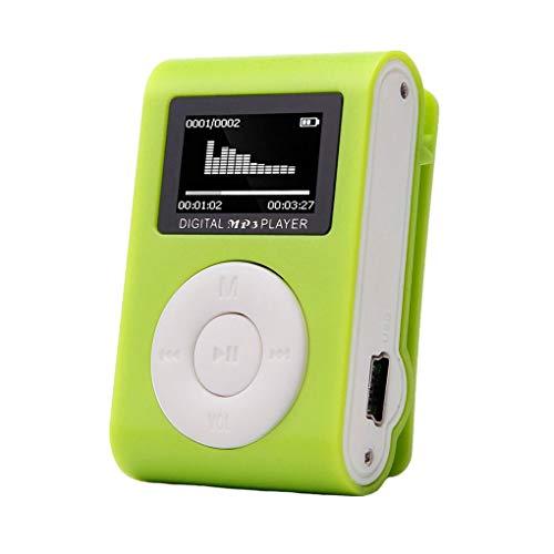 Republe Rennen Sport Mini-MP3-USB-Clip MP3-Player LCD-Schirm-Mikro-Sd TF Karte stilvolles Design Tragbarer