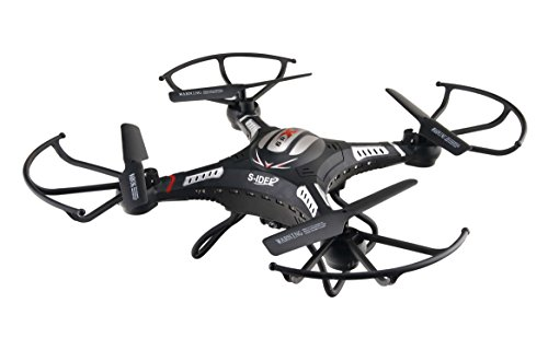 s-idee® 01540 Quadrocopter S183W HD KAMERA WIFI 4.5 Kanal 2.4 Ghz Drohne mit Gyroscope Technik DROHNE MIT WIFI FPV Drohne HD Kamera One Key Return Coming Home Funktion - 5