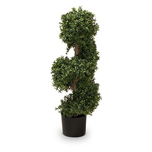 Buchsbaum Kunstpflanze LUKAS Kunstbaum, Buxbaum, künstlicher Buchsbaum mit Naturstamm in versch. Größen
