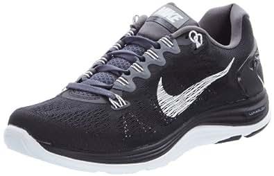 Nike  Lunarglide +5, Chaussures homme - différents coloris - Noir (noir/blanc/gris foncé), 41 EU