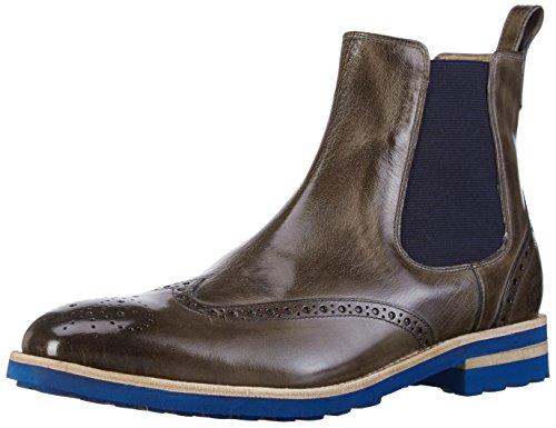 Melvin & Hamilton Tom 13, Bottes Classiques homme Multicolore (Classic Stone Ela Navy Crip Blue)