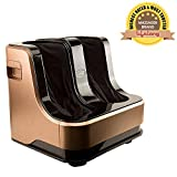 Lifelong LLM99 Foot, Calf and Leg Massager, 80W, 4 Motors, Brown