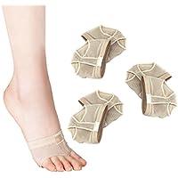 HEALIFTY Ballett Bauchtanz schützende Vorfuß Pads Kissen Abdeckungen Größe L 3Pcs (Beige) preisvergleich bei billige-tabletten.eu