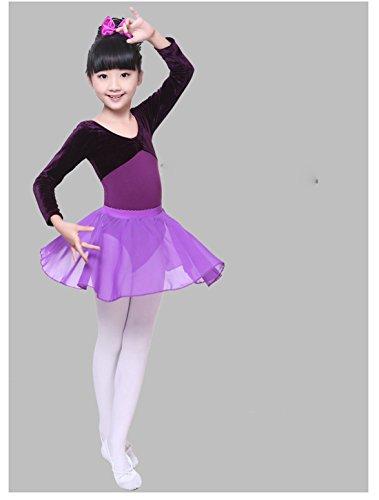 Gaorui Kinder Mädchen Weich Boden Leinwand Ballett Spitze Tanzschuhe Ballett Mädchenschuhe Aprikose 1iboos6