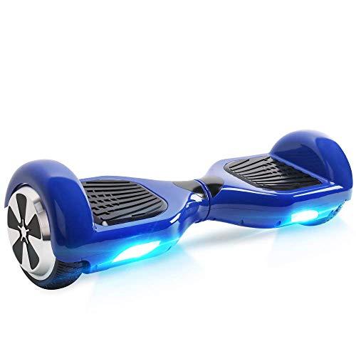 "Kategorie <b>Zweirad E-Board (Hoverboard) </b> - BEBK Hoverboard, 6.5"" Self Balance Scooter mit 2 * 350W Motor, LED Lights Elektro Scooter (024)"