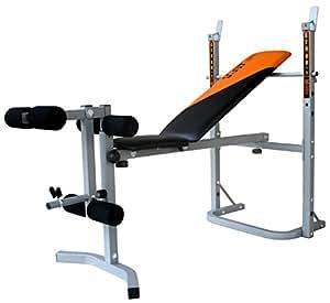v fit banc de musculation avec unit pour les jambes herculean sports et loisirs. Black Bedroom Furniture Sets. Home Design Ideas