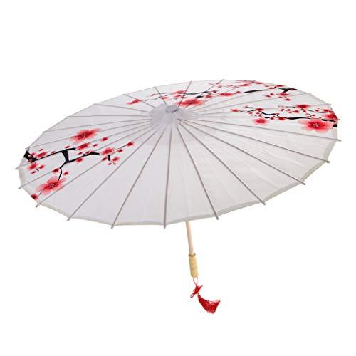 non-brand MagiDeal Vintage Regenschirm Sonnenschirm Tanz Schirm Deko Sschirm Papierschirm, Chinesischer Stil Muster - 13