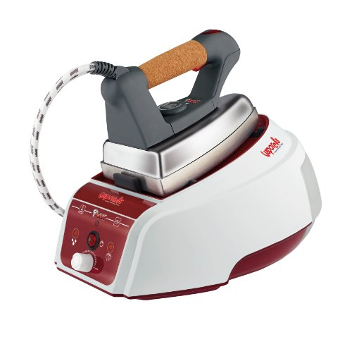 Polti vaporella forever 625 pro ferro da stiro a vapore con caldaia, autonomia illimitata, 4 bar, grigio/bianco/rosso