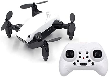 JohnJohnsen S9 Mini RC Drone 2.4G 4CH 6 Axes Pliable RTF Quadcopter Altitude Tenir Une-clé Retour hélicoptère Headless Avion (Blanc) | Promotions