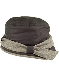 Olney Sombrero Cloche Laurie de algodón Encerado Resistente al Agua Verde  Oliva 6b6f17593c9