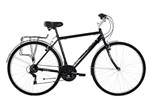 Activ Men's Commute City Urban Bike - (Black, 20 Inch, 20 Inch, 28 Inch)