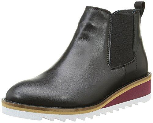 Shoe Biz Berina, Stivali Chelsea Donna, Nero (Velvet Black), 40 EU