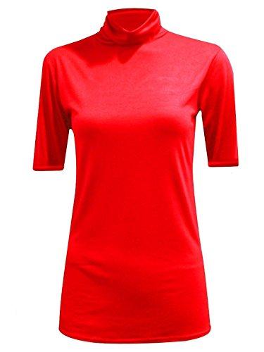 Generic -  T-shirt - Camicia - Maniche corte  - Donna Red