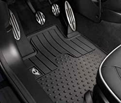 MINI Cooper Countryman Genuine Factory OEM 51472181808 Wing Logo Front All Season Floor Mats