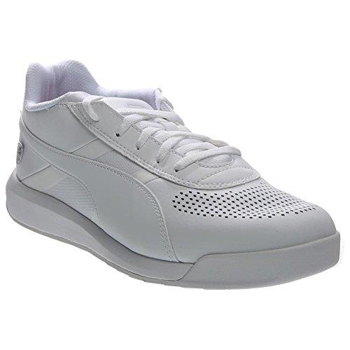 Puma Podio TD SF Cuir Baskets White-White