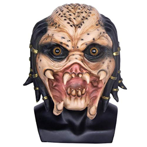 Alien Predator Kostüm Vs Kinder - KSLD Alien Vs Predator Lonely Wolf Maske Vollgesichts Cs Maske Halloween Party Cosplay Horror Maske