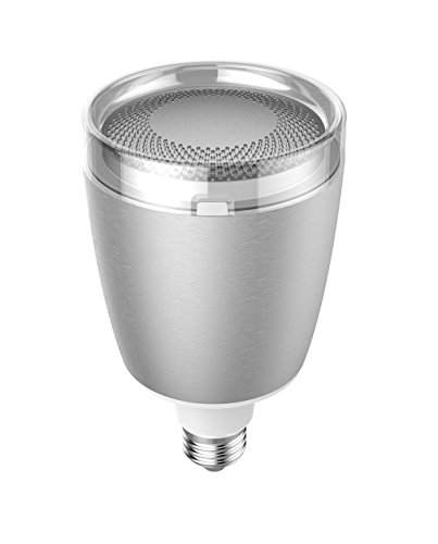 Sengled C02-BR30EAE27S, Pulse Flex LED + WLAN Lautsprecher by harman JBL, E27, Aluminium, silber