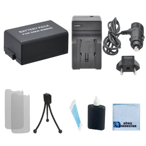 DMW-BMB9 High-Capacity Battery + Car/Home Charger For Panasonic DMC-FZ60 DMC-FZ62 DMC-FZ70 DMC-FZ72 DMC-FZ100K DMC-FZ150K DMW-BMB9 DMW-BMB9PP DMW-BMB9E & More.. Camcorder + Complete Starter Kit  available at amazon for Rs.2547