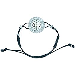 Uhr Marco mavilla Pepito Reversible Skull Silver und Glitzer psk03sl