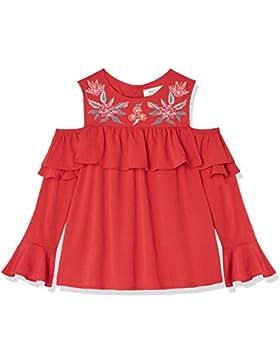 RED WAGON Mädchen Cold Shoulder-Bluse mit Stickereien