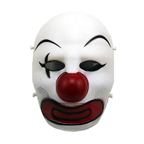 H World EU Airsoft Maske, gruseliger Clown, Kostüm, Maske, Cosplay, Halloween, HW07, ()