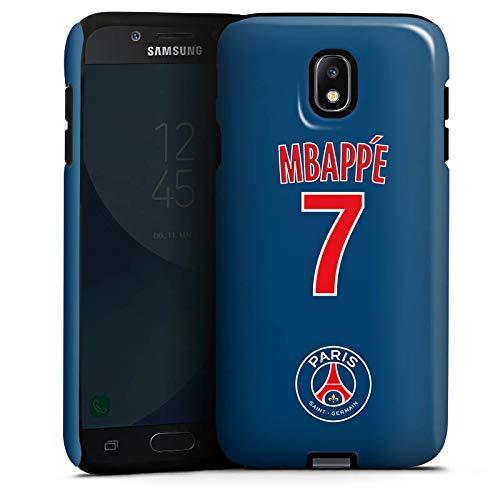 DeinDesign Samsung Galaxy J5 Duos 2017 Hülle Tough Case Schutzhülle Paris Saint-Germain PSG Trikot Mbappé